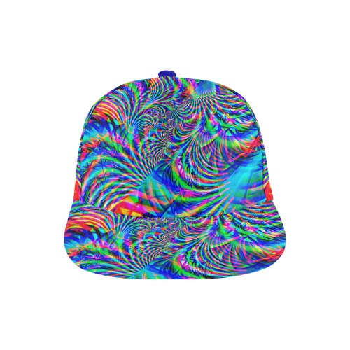 7b76c0ba53a3c ... Psychedelic Tropical Rave All Over Print Snapback Hat A ...
