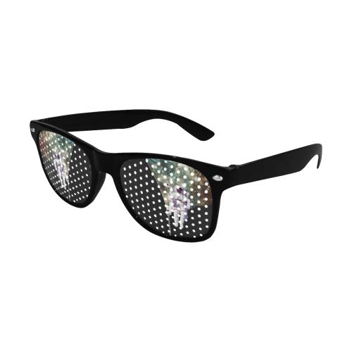 ZIPPER - Astronaut Home Sweet Home Custom Sunglasses (Perforated Lenses)