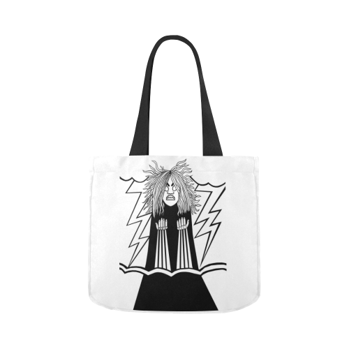Rage Canvas Tote Bag 02 Model 1603 (Two sides)