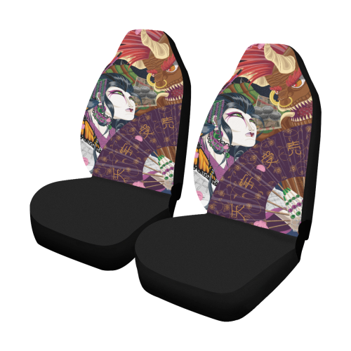 Uzumi And The Oni Car Seat Cover Car Seat Covers Set Of 2
