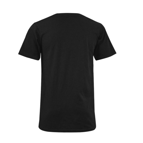 Devil Dice Men's V-Neck T-shirt (USA Size) (Model T10)