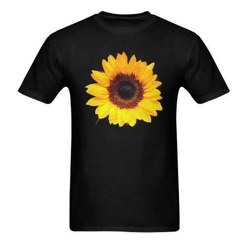 Sunny Sunflower - The Nature Is Shining Heavy Cotton T-Shirt - 5000 (Two Side Printing)