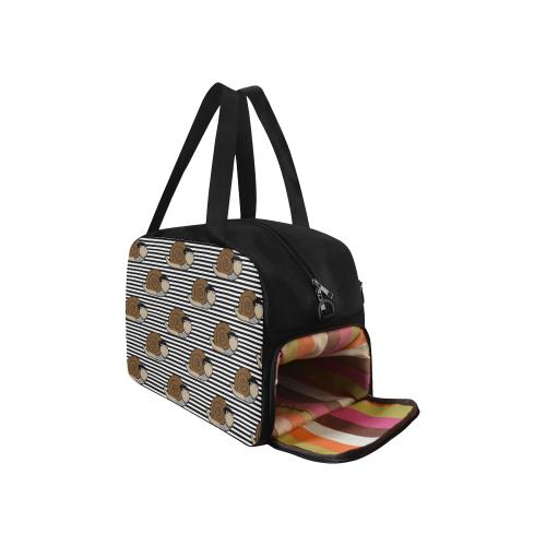 Escargot ~ French Snail Fitness Handbag (Model 1671)