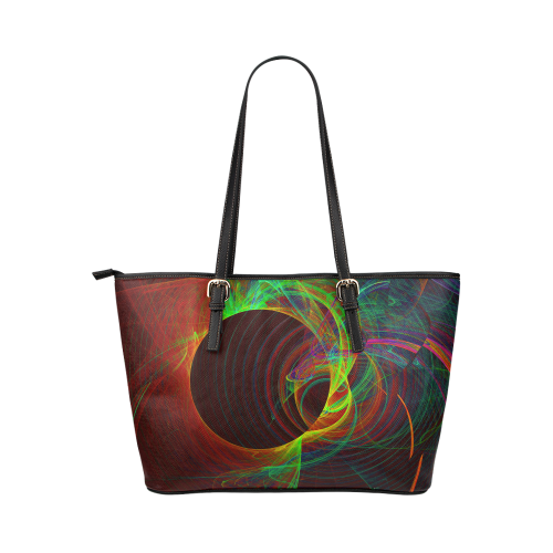 zappwaits 016 Leather Tote Bag/Small (Model 1651)