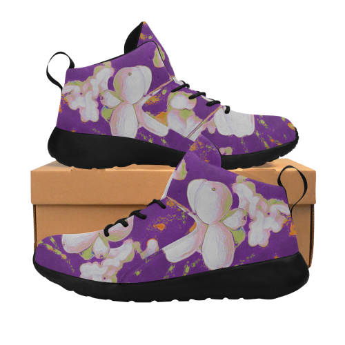 Snowberries. Inspired by the Magic Island of Gotland. Women's Chukka Training Shoes (Model 57502)
