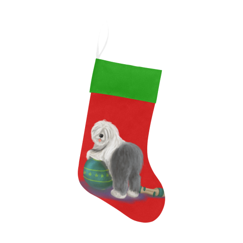 circus ball_transparent_v3 Christmas Stocking