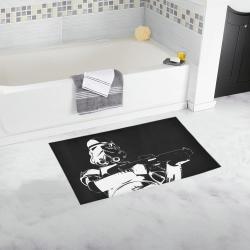 f439b059858 Black & White Stormtrooper Stamp Bath Rug 16x28 Bath Rug ...