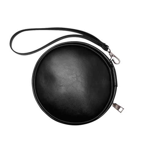 Wait a Minute Round Makeup Bag (Model 1625)