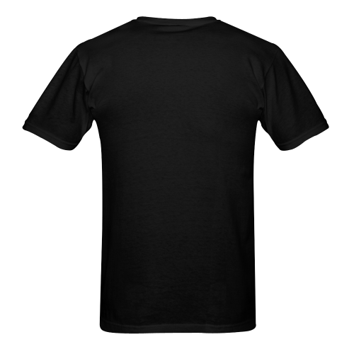 GM Rev, Inc - name on black Sunny Men's T-shirt (USA Size) (Model T02)