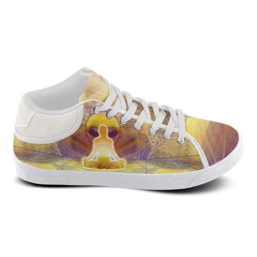 MYSTIC UNIVERSE 14 Men's Chukka Canvas Shoes (Model 003)