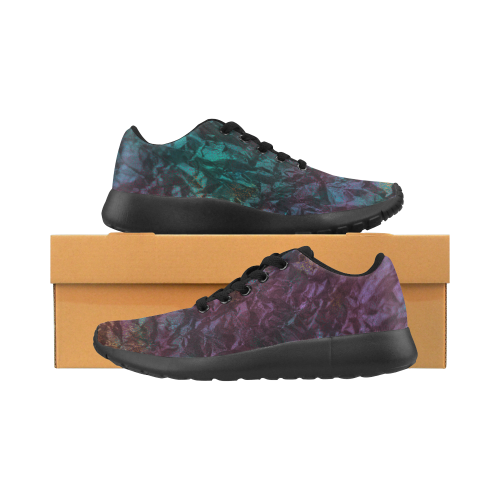 Design shoes, with Glitters Women's Running Shoes (Model 020)