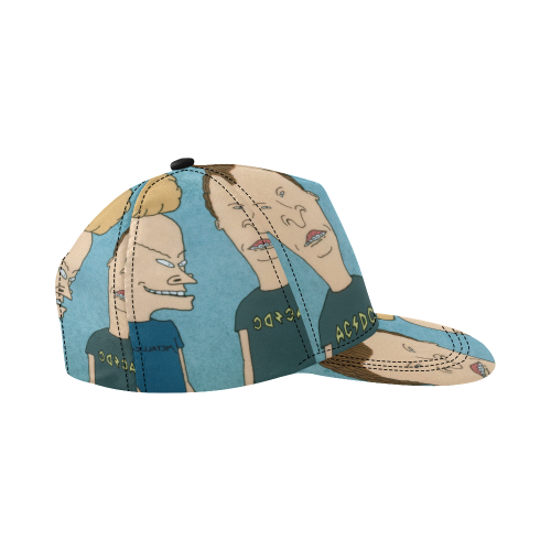 Beavis_&_Butt-head2 All Over Print Snapback Hat D