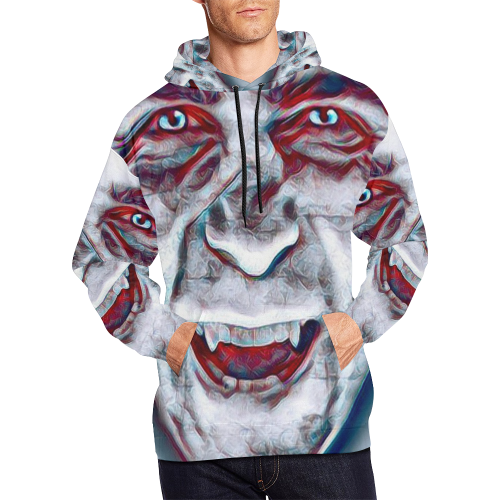 Ghost Face Killer All Over Print Hoodie for Men (USA Size) (Model H13)
