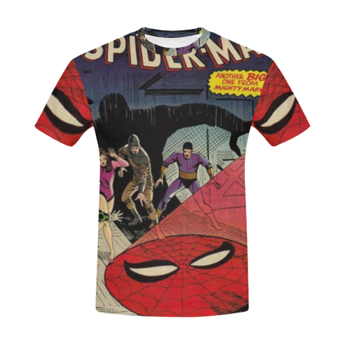 bd13b4a17 The Amazing Spider-Man (Marvel, 1963 series) #22 All Over Print T-Shirt for  Men (USA Size) (Model T40)   ID: D3462773