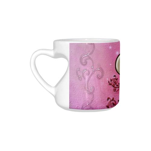 Wonderful heart with cross Heart-shaped Mug(10.3OZ)