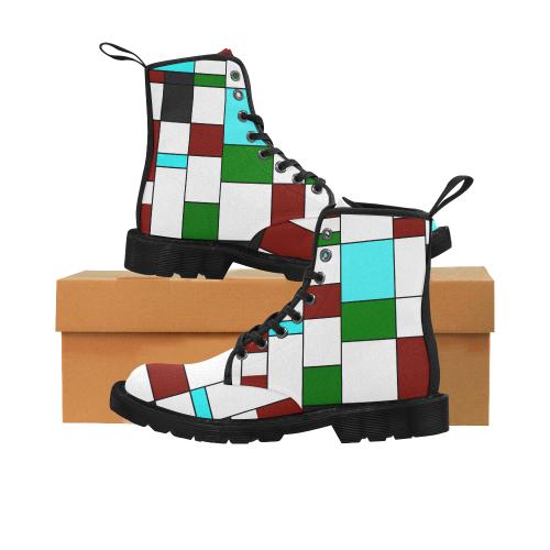 zappwaits t art Martin Boots for Women (Black) (Model 1203H)