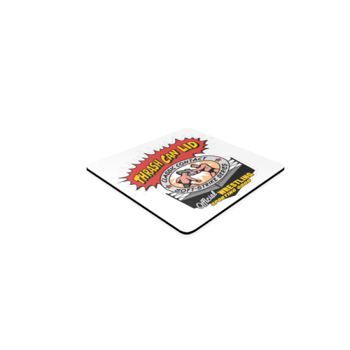 Thrash Can Lid - Logo Square Coaster
