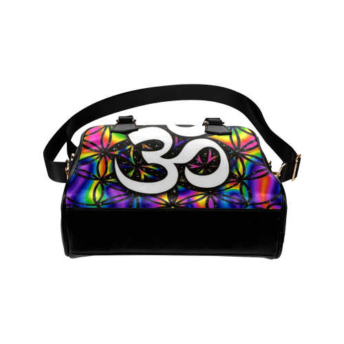 b932c5eef5e ... Paris Girl Gucci Om Rainbow Leather Shoulder Handbag (Model 1634) Video