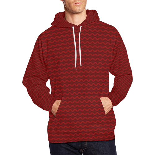 b3b722d0451e EDM Fire Avatar All Over Print Hoodie for Men (USA Size) (Model H13 ...