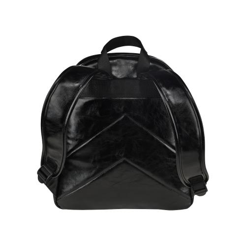 MerKittyCorn by Skinderella, black Multi-Pockets Backpack (Model 1636)