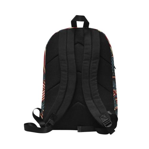 Patriotic USA American Flag Art Unisex Classic Backpack (Model 1673)
