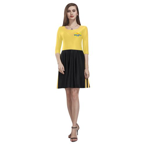 The Wiggles - Emma Tethys Half-Sleeve Skater Dress(Model D20)