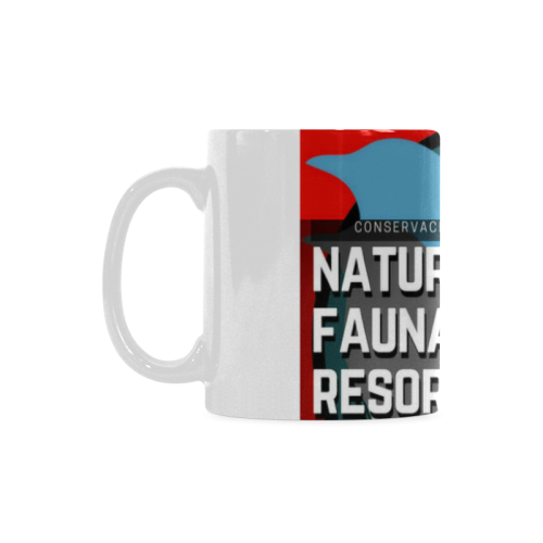 TAZA REFUGIOS PARA FAUNA SILVESTRE White Mug(11OZ)