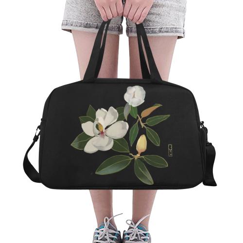 Traveling Magnolia Fitness Handbag (Model 1671)