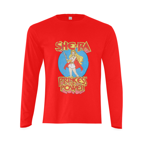b6aedadffff She-Ra Princess of Power Sunny Men s T-shirt (long-sleeve) (Model T08)