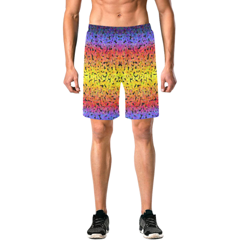 colorful z29 Men's All Over Print Elastic Beach Shorts (Model L20)