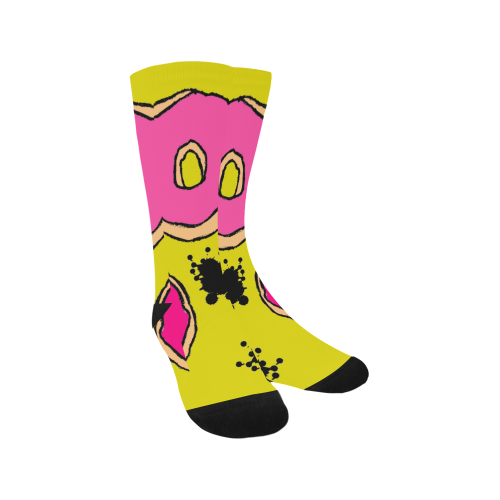 Graffiti Donut Trouser Socks