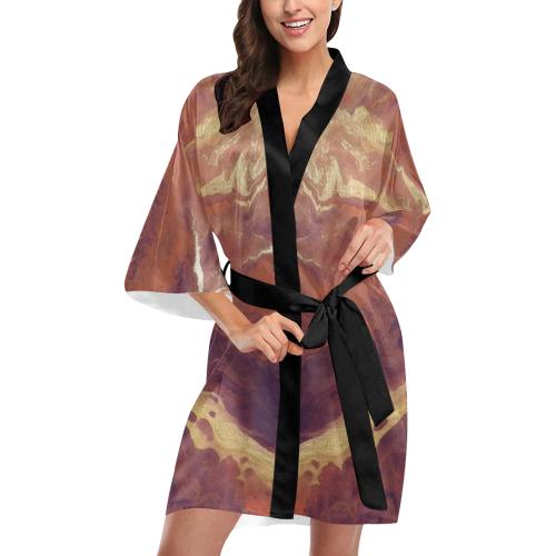 Sunset Glow Kimono Robe