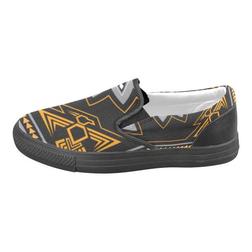 Thunderbird Men's Slip-on Canvas Shoes (Model 019)