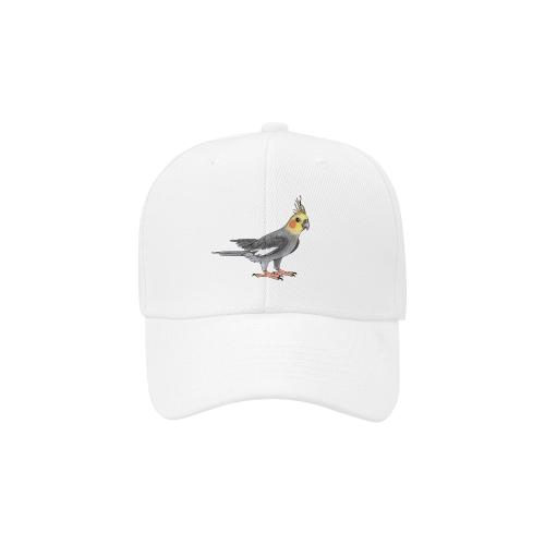 Cockatiel bird Dad Cap