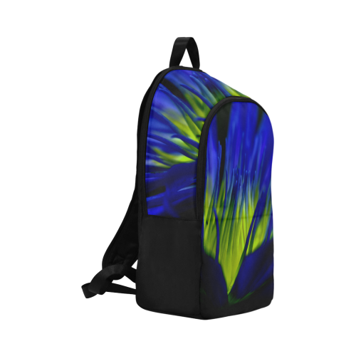 water lily 04 Fabric Backpack for Adult (Model 1659)
