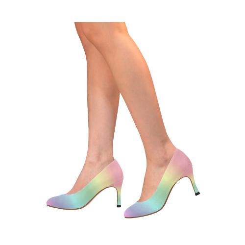 7b8495d0cbb ... 048) Pastel Rainbow Women s High Heels (Model ...