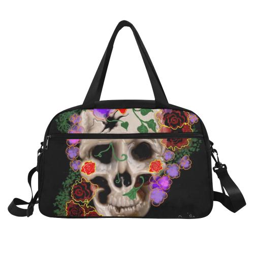 The Sugar Skull Fitness Handbag (Model 1671)
