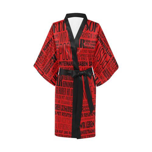 German House Rules - POSITIVE HAUSORDNUNG 1 Kimono Robe