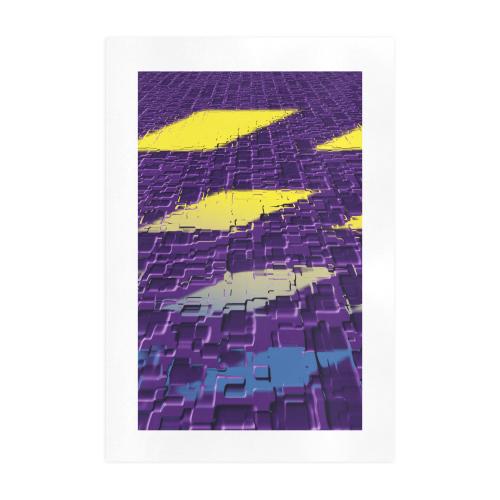 Design netzauge 13 Art Print 19''x28''