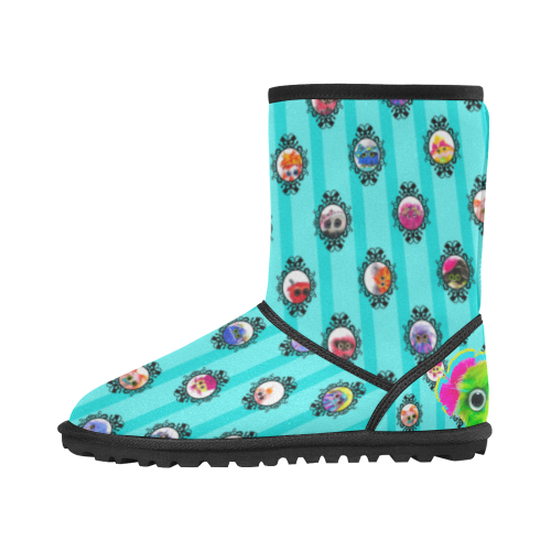 Salty Custom High Top Kid's Snow Boots (Model 050)