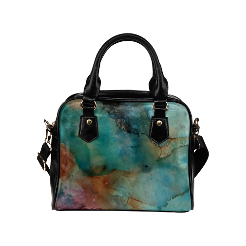 abstract Shoulder Handbag (Model 1634)