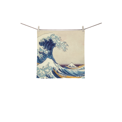 "eb6930ba9d14f0 ... Flip Flops for Men Women (Model 040).  18.31. The Great Wave off  Kanagawa Square Towel 13""x13"""