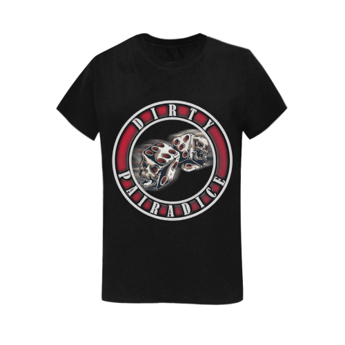Devil Dice Tee Women's T-Shirt in USA Size (Two Sides Printing)