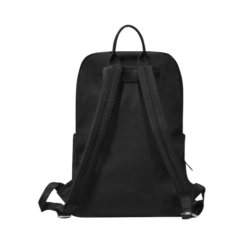Savannah Reads™ (glasses) Unisex Slim Backpack (Model 1664)