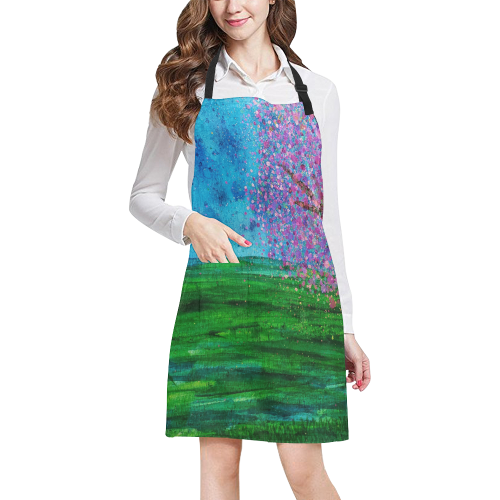 spring breeze All Over Print Apron