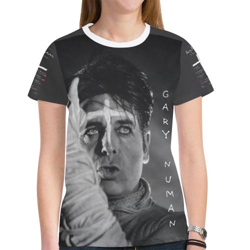 7745d52515408b Gary Numan orchestral tour tshirt ladies New All Over Print T-shirt for  Women (Model T45) | ID: D2591872