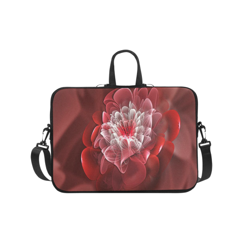 3D Pink Flower Laptop Handbags 17