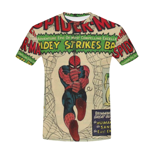 93b56bd9a The Amazing Spider-Man (Marvel, 1963 series) #19 All Over Print T-Shirt for  Men (USA Size) (Model T40)   ID: D3462779