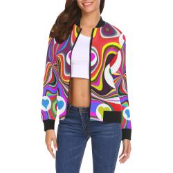 9b6bbf23b1747d DESIGN B127 All Over Print Bomber Jacket for Women (Model H19) | ID ...