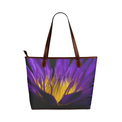 water lily 01 Shoulder Tote Bag (Model 1646)